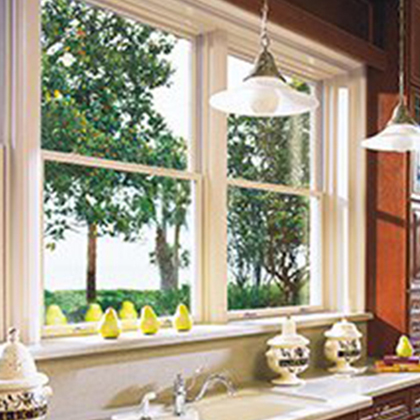 Double Hung Window in Austin, TX in kitchen