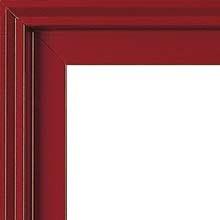 brick red exterior window color