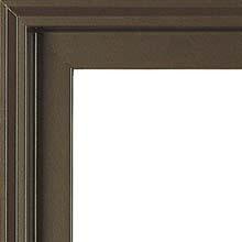 brown exterior window color